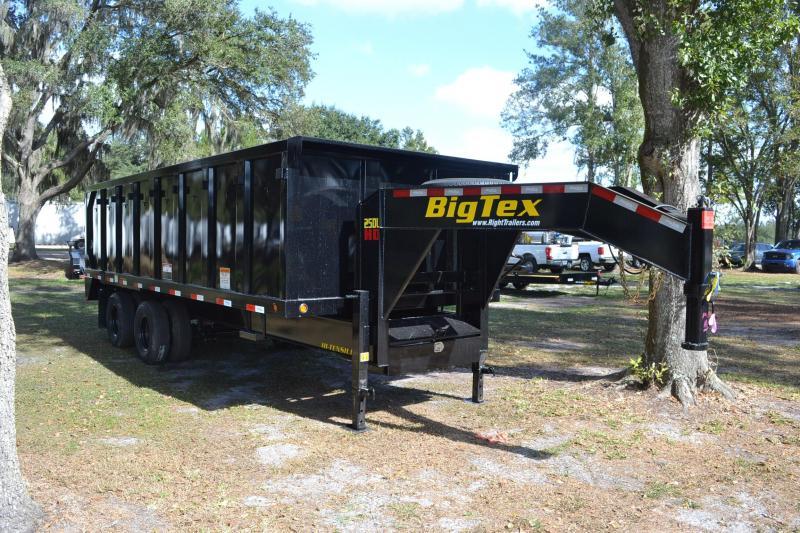 8x20x4 Big Tex | Gooseneck Dump Trailer