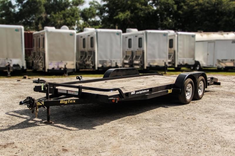USED: 7x20 Big Tex Trailers | Car Hauler [70CH]