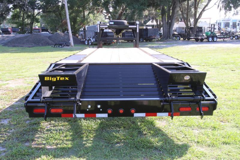 8x25 Big Tex | Gooseneck Equipment Trailer