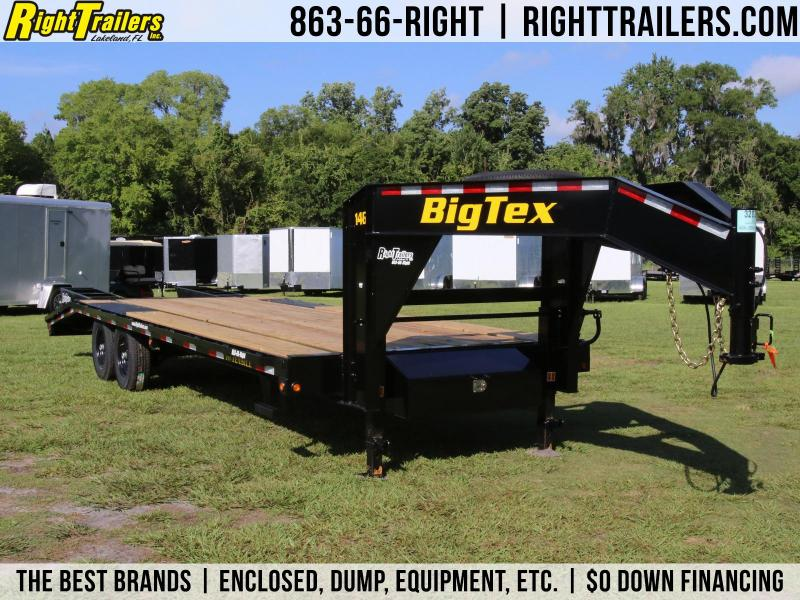 8x25 Big Tex | Gooseneck Equipment Trailer