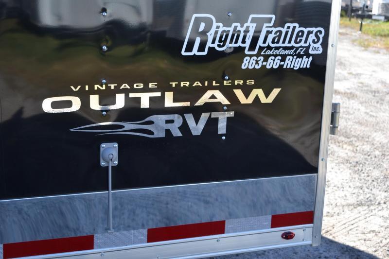 8.5x28 Vintage Outlaw | Race Car Trailer