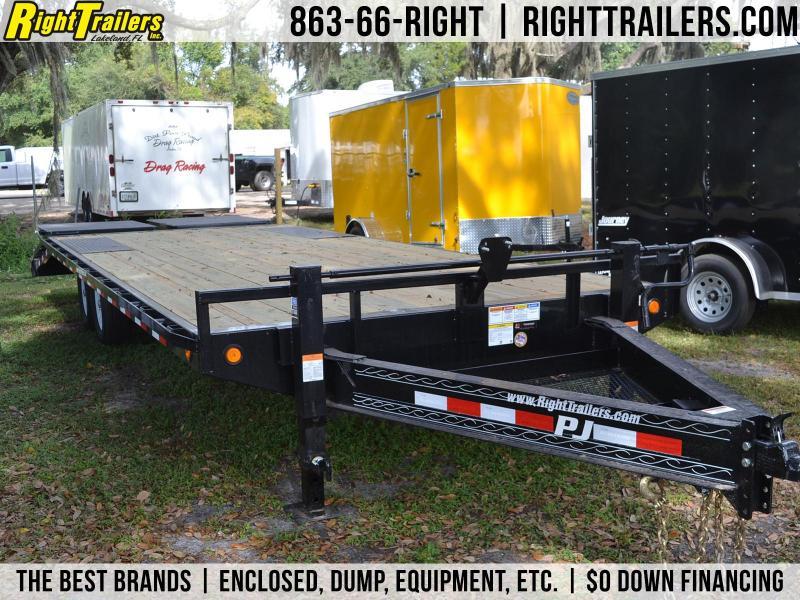 8.5x25 PJ Trailers | Equipment Trailer