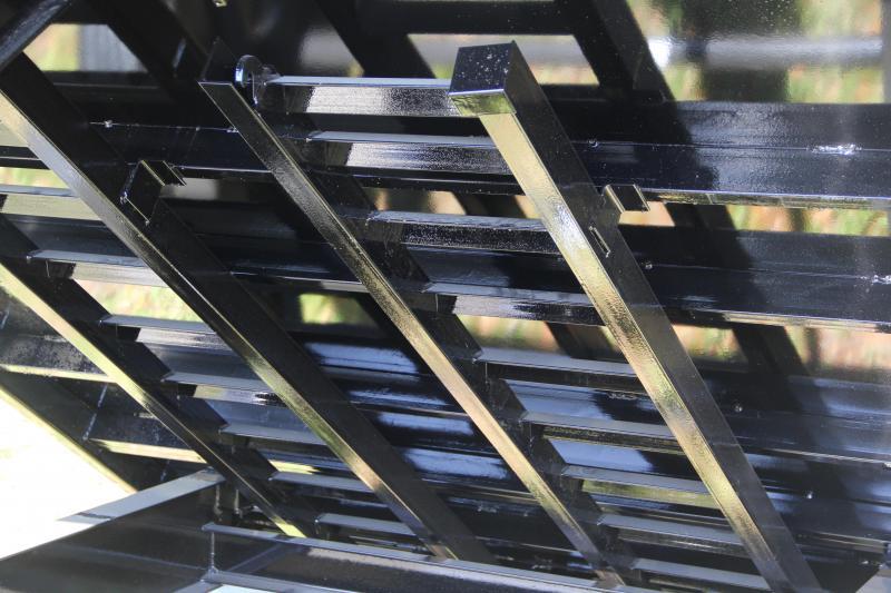 8x14 Lamar Trailers | Dump Trailer [Deck-Over]
