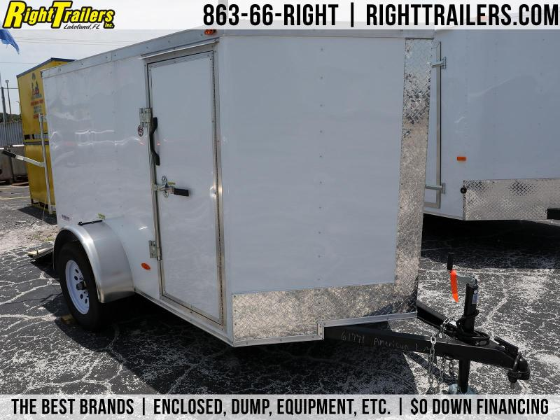 5x8 Freedom Trailers | Enclosed Trailer