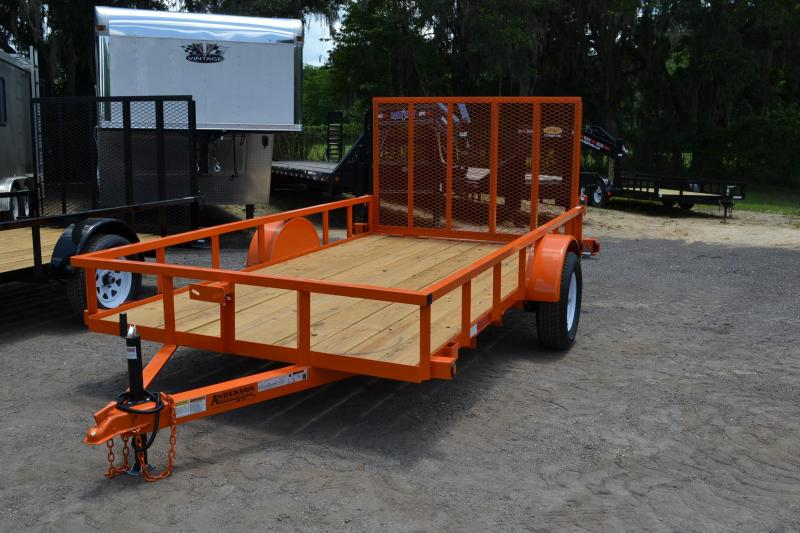 6x12 Anderson | Utility Trailer [Orange]