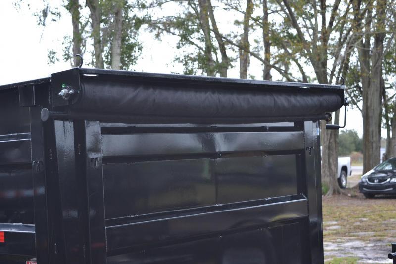 7x16x4 PJ Trailers   Dump Trailer