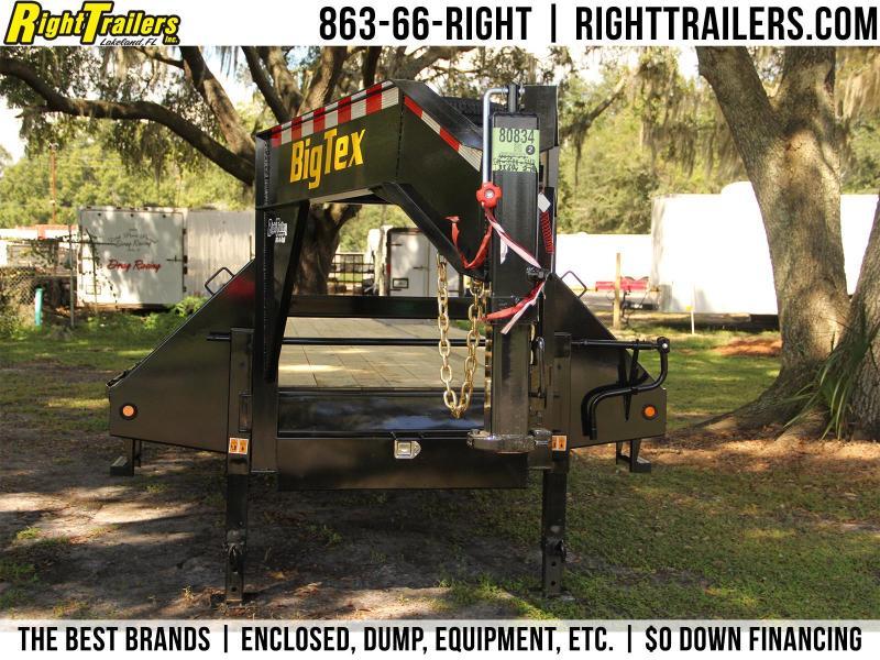 8.5x40 Big Tex Trailer | Equipment Trailer Gooseneck}