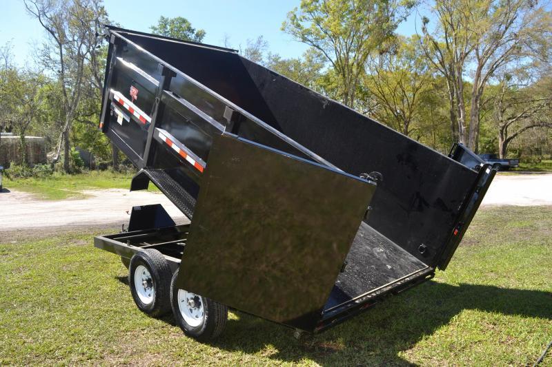 7x14 PJ Trailers | Dump Trailer [High Side]