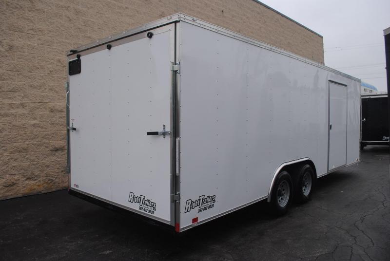 8.5x22 Team Spirit Custom Trailers | Enclosed Trailer