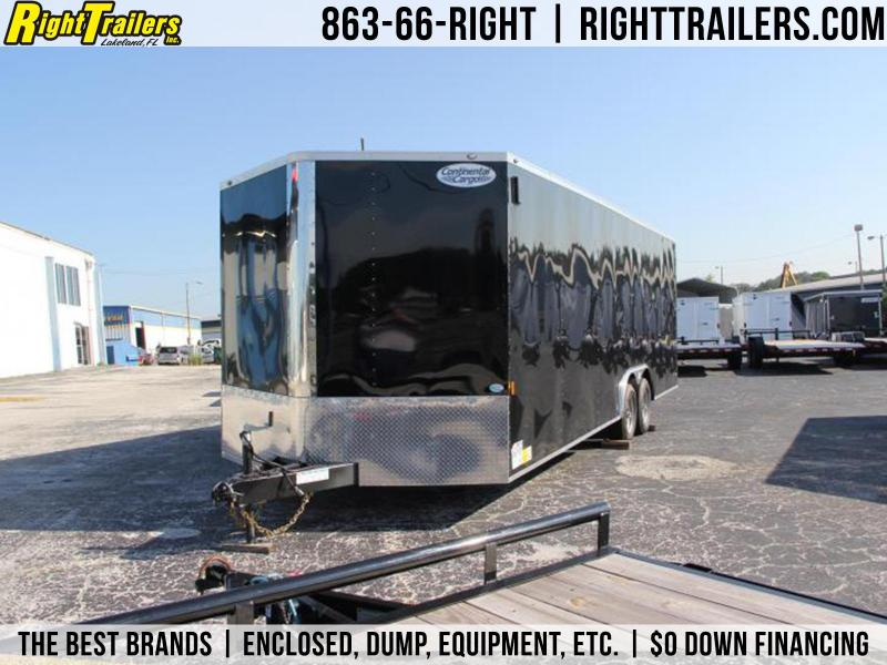 8.5x24 Contintental Cargo | Enclosed Trailer