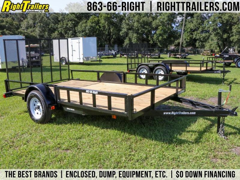 7x12 Red Hot Trailers | Utility Trailer