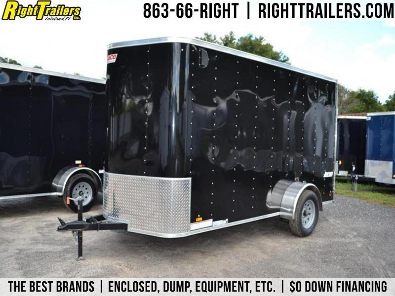 6x12 Pace American | Enclosed Trailer [Black] in Ashburn, VA