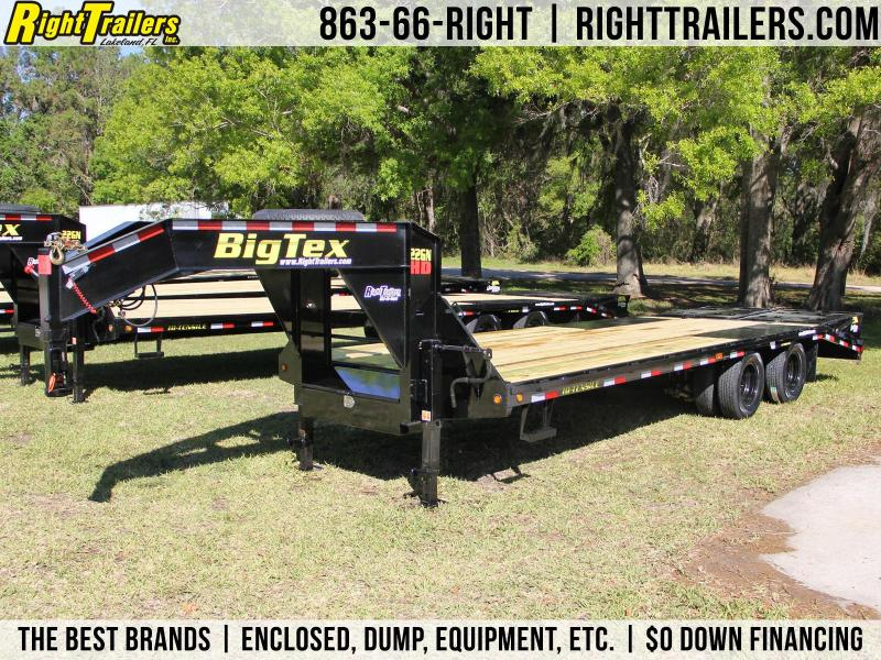 8.5x25 Big Tex Trailers | Equipment Trailer [22GN-20+5]