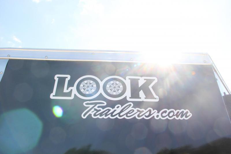 6x12 LOOK Vision | Enclosed Trailer [Black]