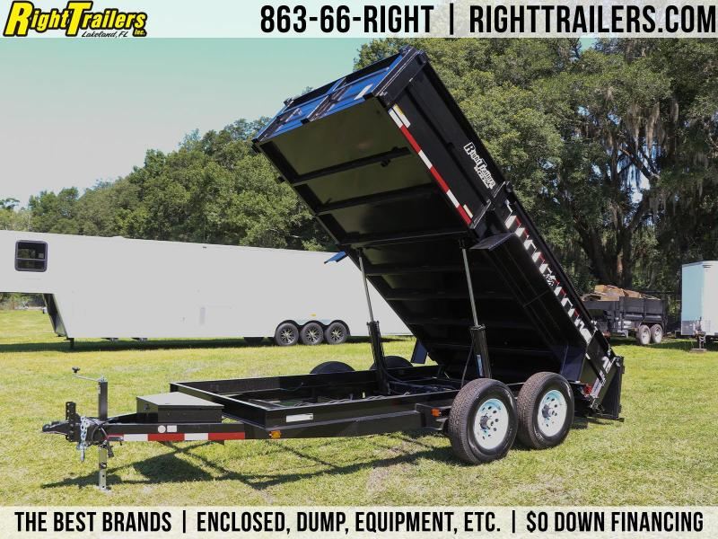 7x14 Carry-On | 7 TON Dump Trailer