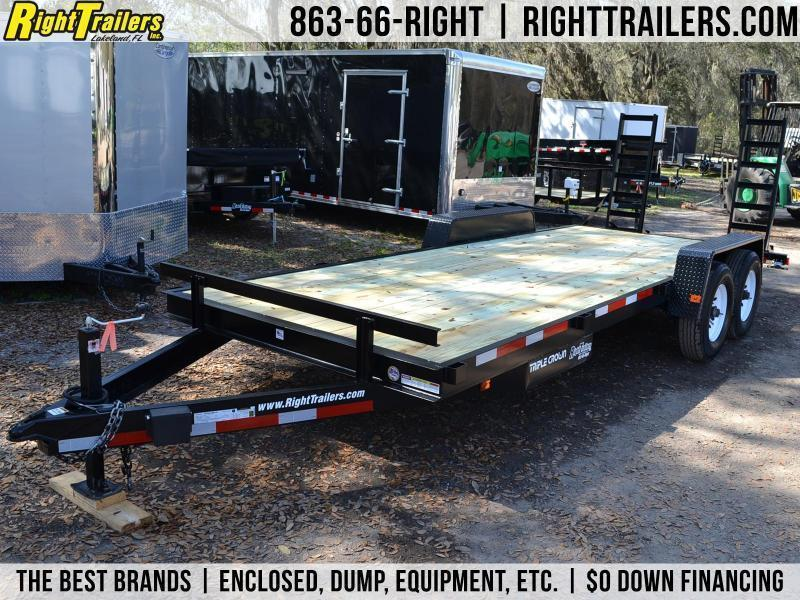 7x20 Red Hot Trailers | Equipment Trailer