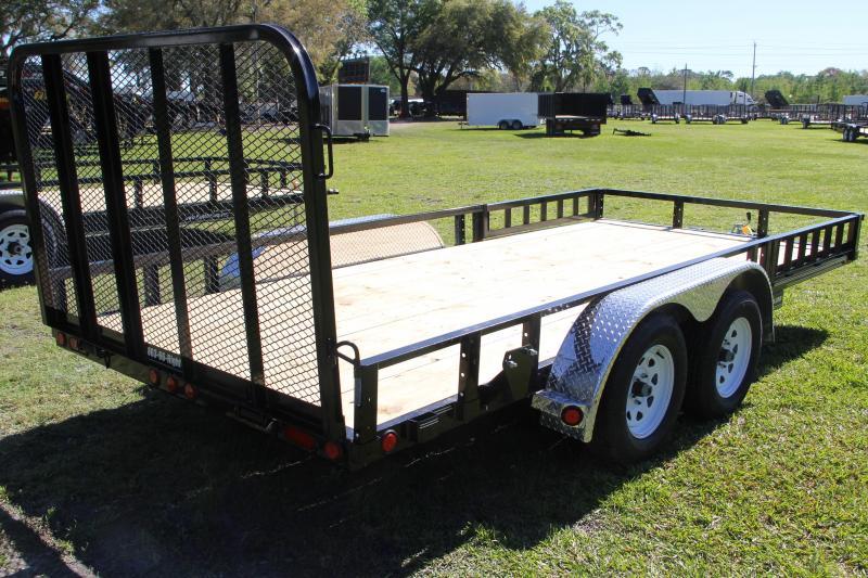 7x16 PJ Trailers   ATV Utility Trailer