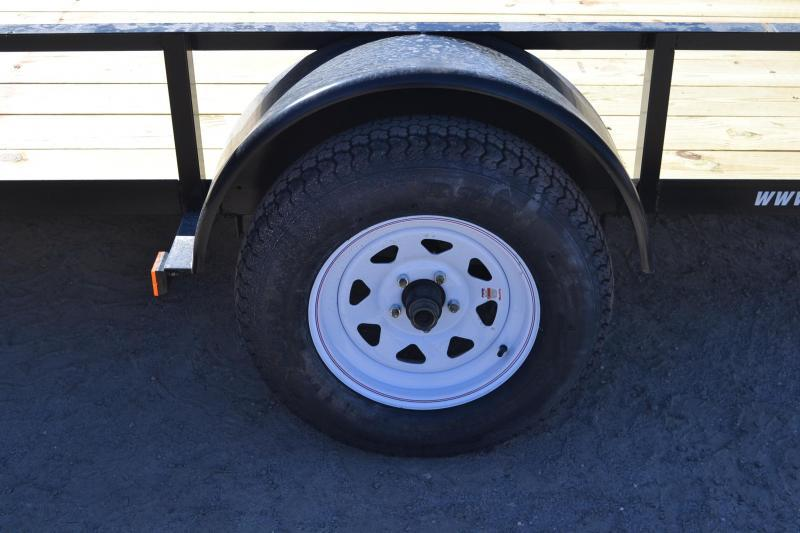 6x12 Red Hot Trailers | Utility Trailer