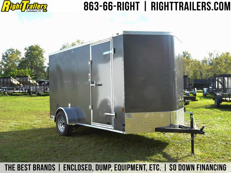 6x12 Continental Cargo | Enclosed Trailer [Charcoal]