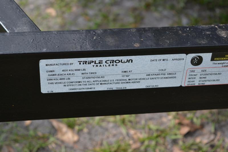 6x12x4 Triple Crown | Dump Trailer
