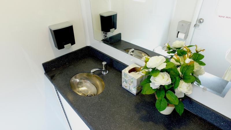 Two Station VIP Restroom Trailer (Rental)
