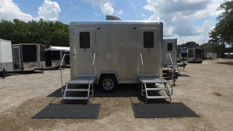 Two Station VIP Restroom Trailer (Rental)