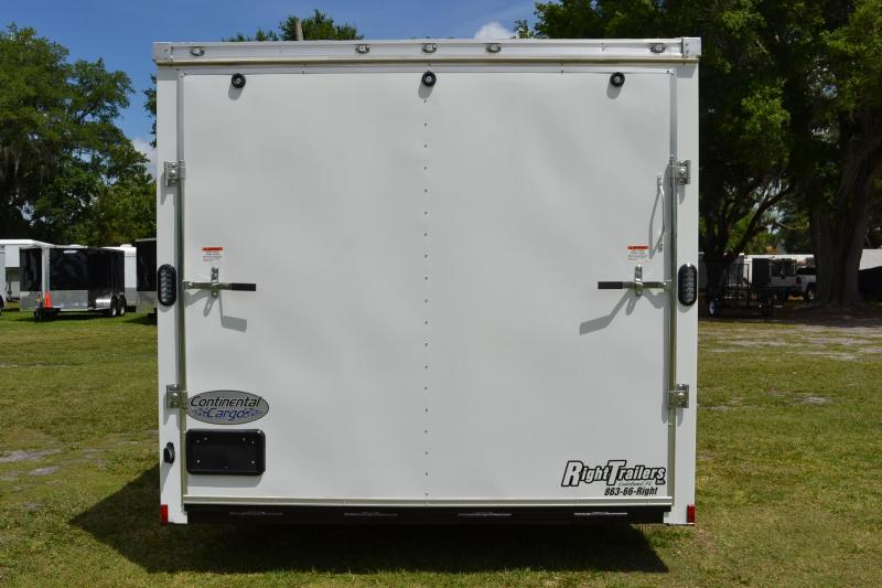 8.5x24 Continental Cargo | Enclosed Trailer