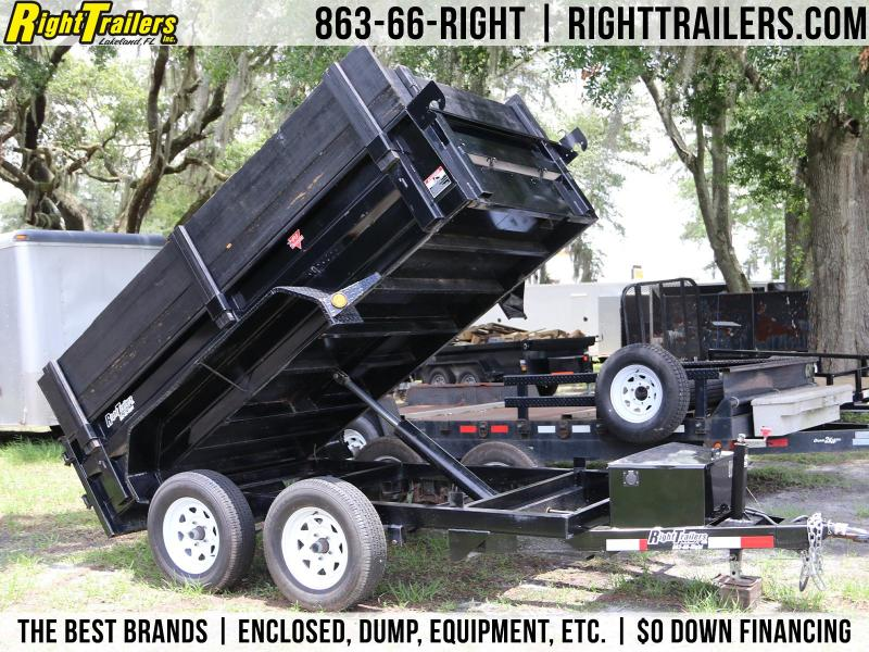 USED: 5x10 PJ Trailers | Dump Trailer