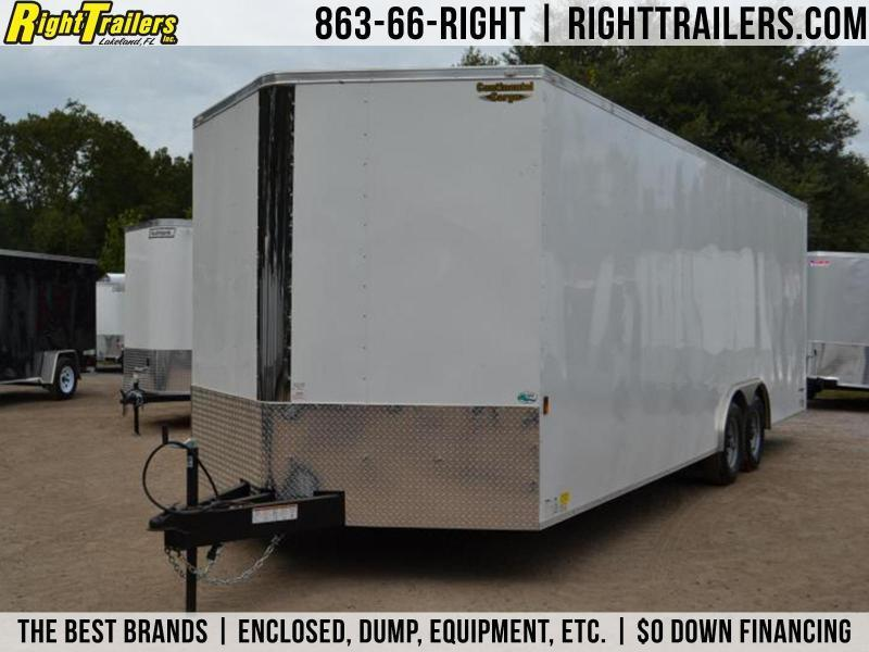 8.5x24 Continental Cargo | Enclosed Trailer in Ashburn, VA
