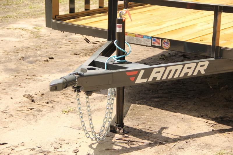 7x14 Lamar Trailers | ATV Trailer [Charcoal Gray]