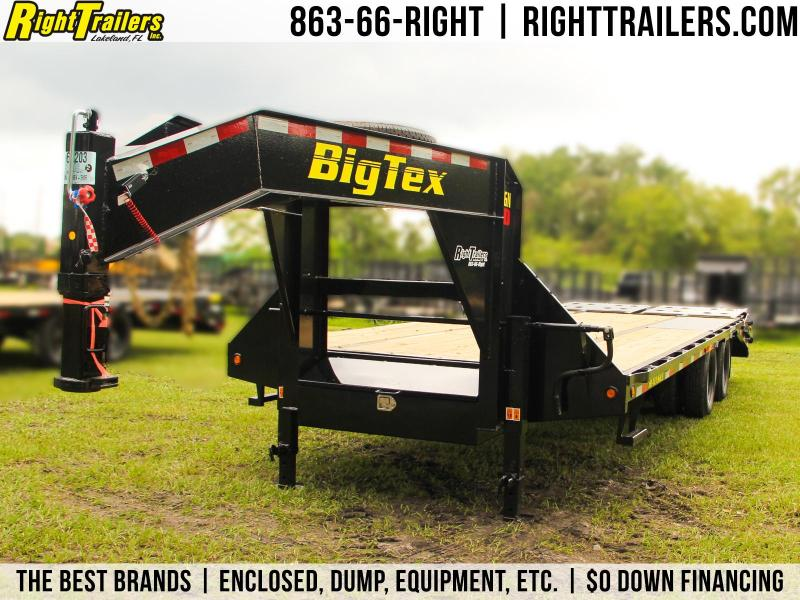 8.5x25 Big Tex Trailers |  Equipment Trailer [22GN/Mega Ramps]