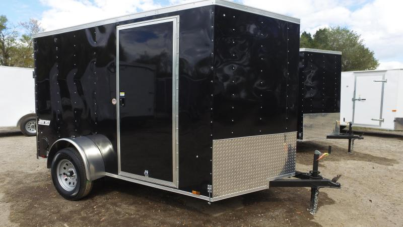 6x10 Pace American | Enclosed Trailer [Black]