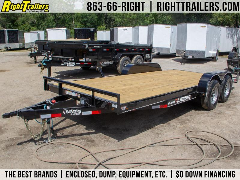 7x18 Lamar Trailers | Car Hauler