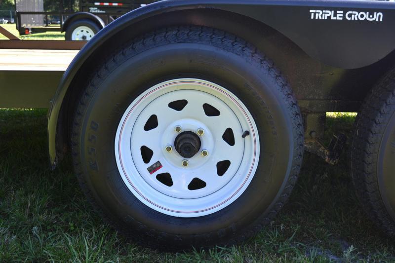 7x18 Triple Crown Trailers | Car Hauler Trailer