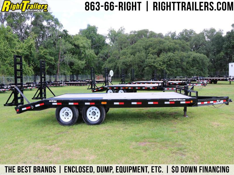8.5x19 PJ Trailers | Equipment Trailer