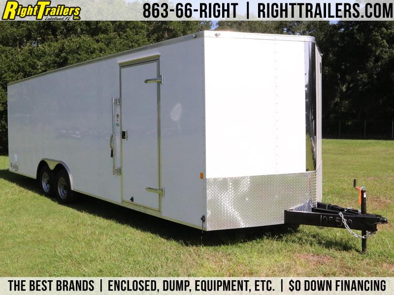 8.5x24 Continental Cargo | Enclosed Cargo Trailer