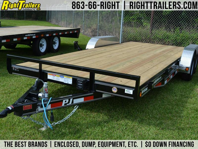 2019 PJ Trailers | Car Hauler Trailer