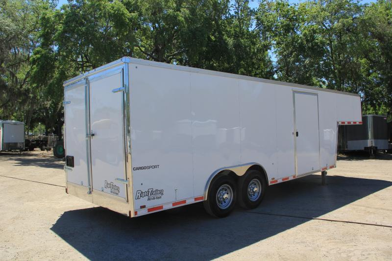 8.5x28 Pace American | Enclosed Trailer