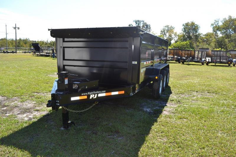 7x16x4 PJ Trailer   Dump Trailer