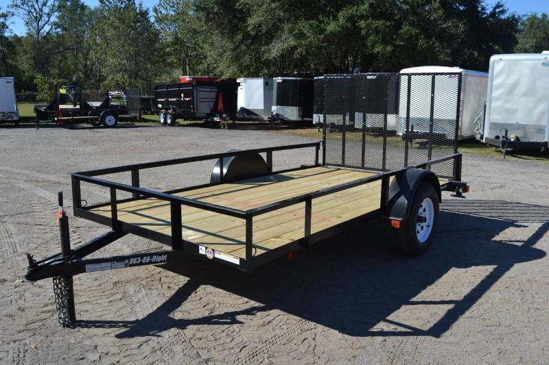 6x12 Red Hot Trailers | Utility Trailer (Tandem Axle)