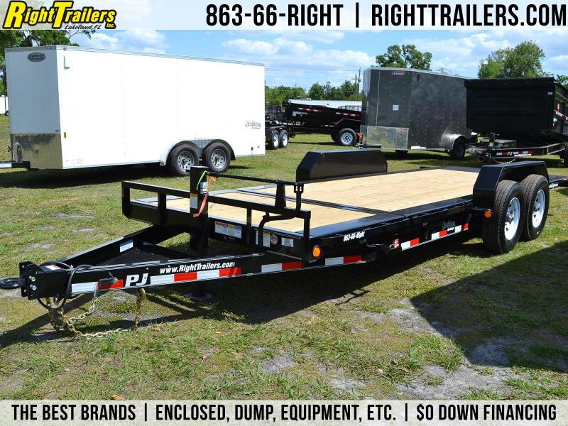 20' PJ Trailers | Tilt Equipment Trailer