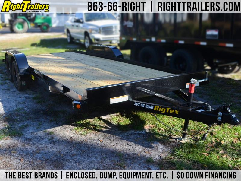 7x20 Big Tex Trailers | Car Hauler Trailer