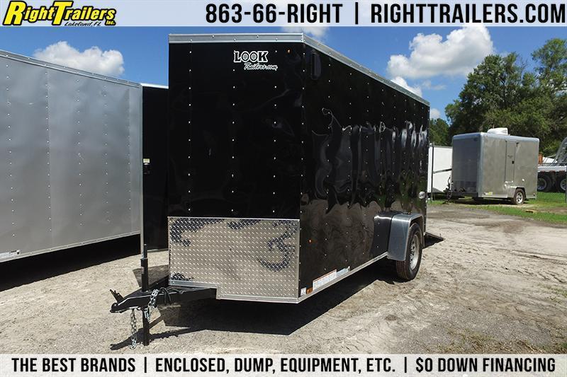 6x12 Look | Enclosed Trailer [Black] in Ashburn, VA