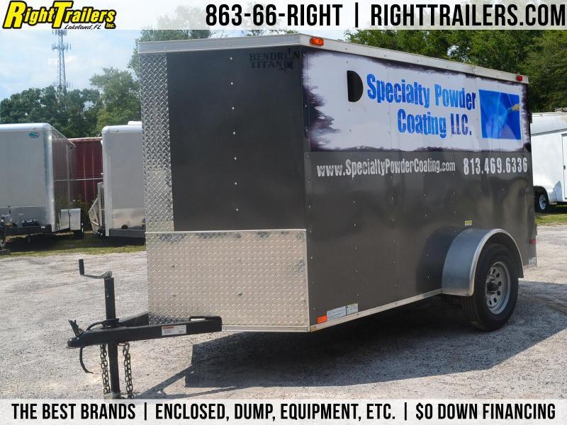 USED: 5x10 Bendron Titan | Enclosed Trailer in Ashburn, VA