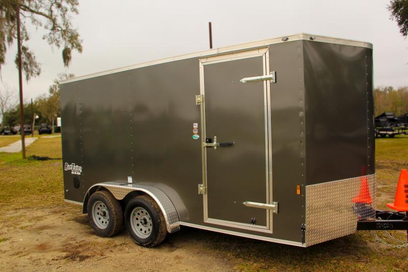 7x14 Continental Cargo | Enclosed Trailer [Grey]