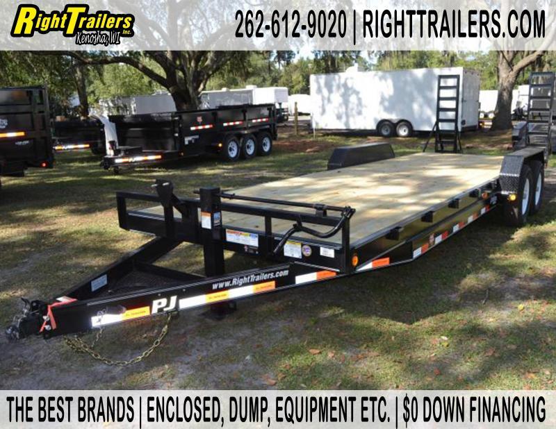 7x24 PJ Trailers | Equipment Trailer