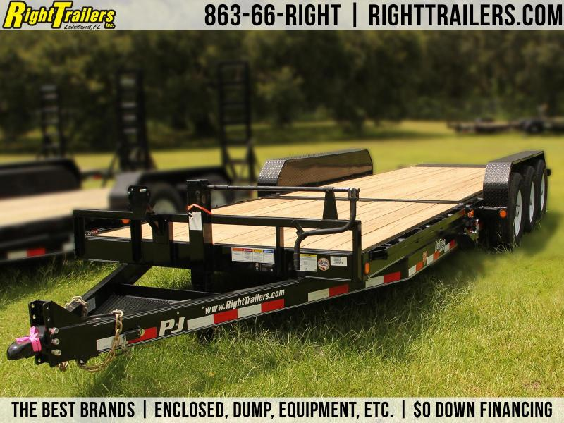 7x24 PJ Trailers | Equipment Trailer [Tilt Deck]