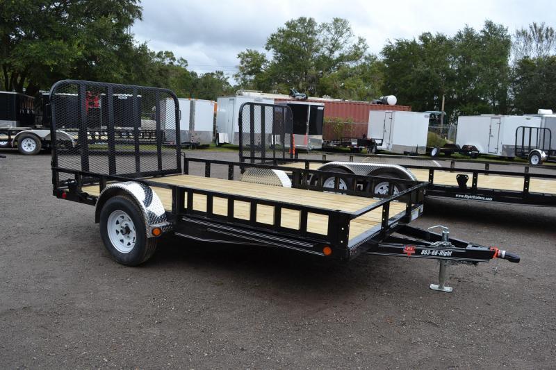 7x12 PJ Trailers   ATV Trailer