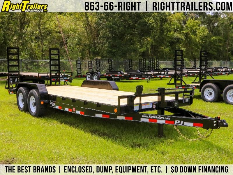 7x20 PJ Trailers | Car / Racing Trailer