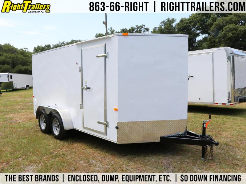 7x14 Red Hot Trailers | Enclosed Trailers